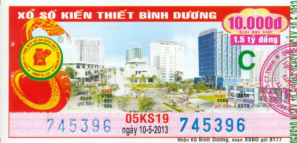 Mẫu Ve Số Binh Dương 14 06 2013 Kiểm Tra đối Chiếu Khi đổi Số Trung Minh Ngọc