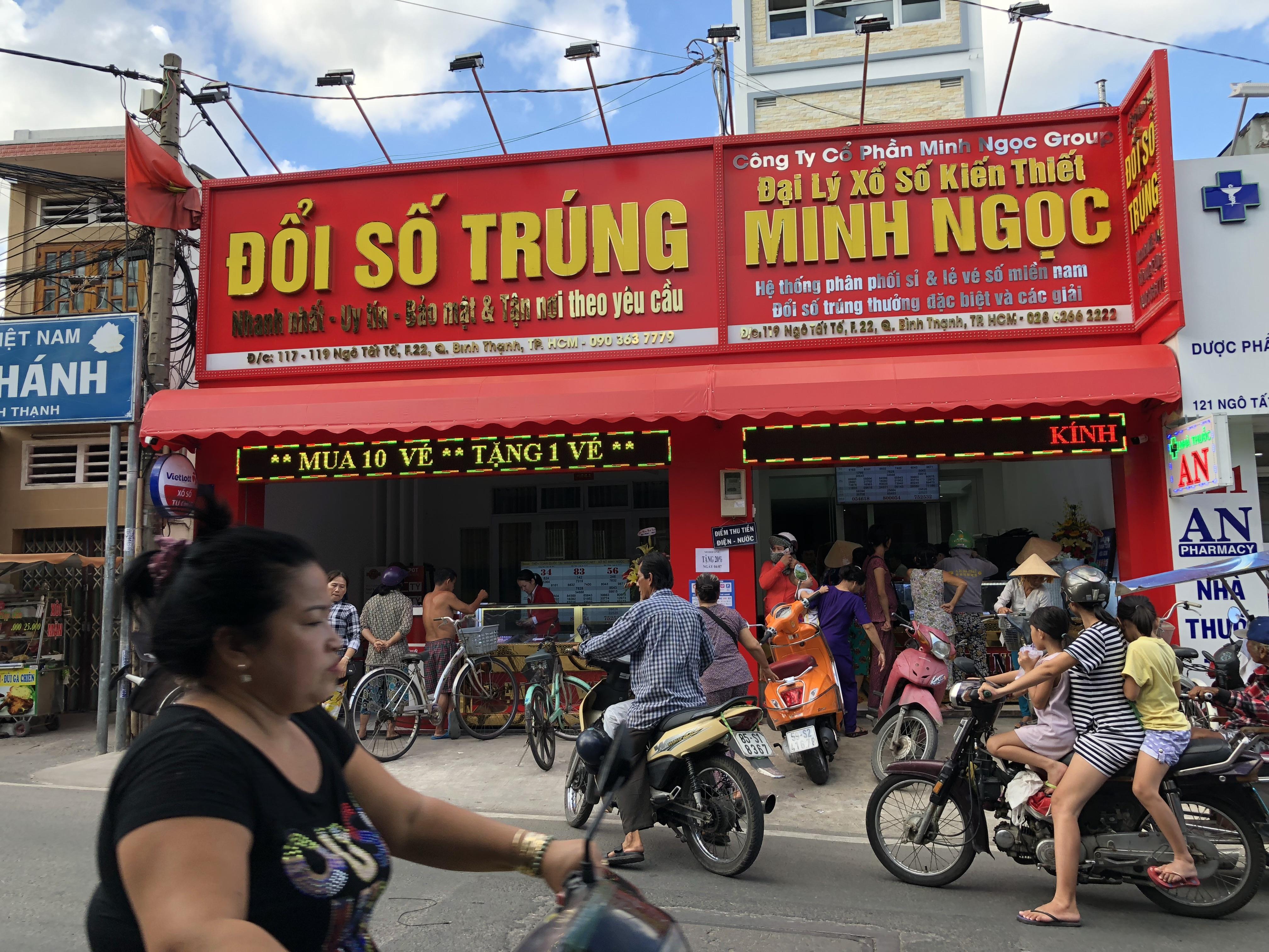đổi Số Trung Minh Ngọc đổi Ve Số Trung Thưởng ở đau Tphcm Va Cac Tỉnh